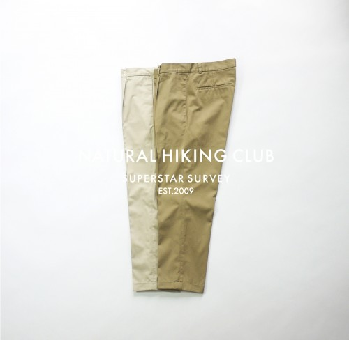 NHC SURVEY PANTS (ONE TUCK) P1