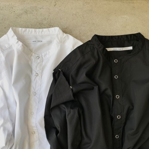 "FP MODULAR SHIRT for 1F Store""wht/blk"""
