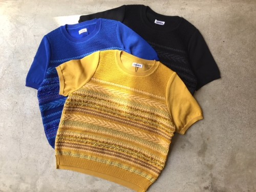 【COOHEM】 SUMMER SOLID TWEED PULLOVER