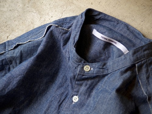 """FP 2TONE SC SHIRT """"CHAMBRAY"""" for 1F STORE"""